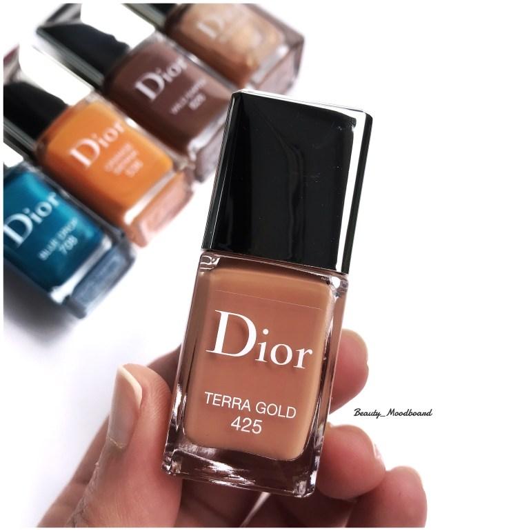 Dior Vernis Summer Look 2019 Terra Gold 425