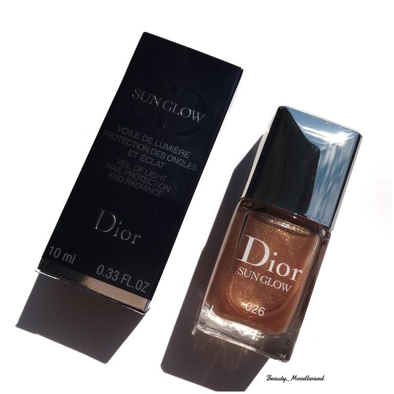 Voile de lumière Dior Sun Glow 026 Summer Look 2019