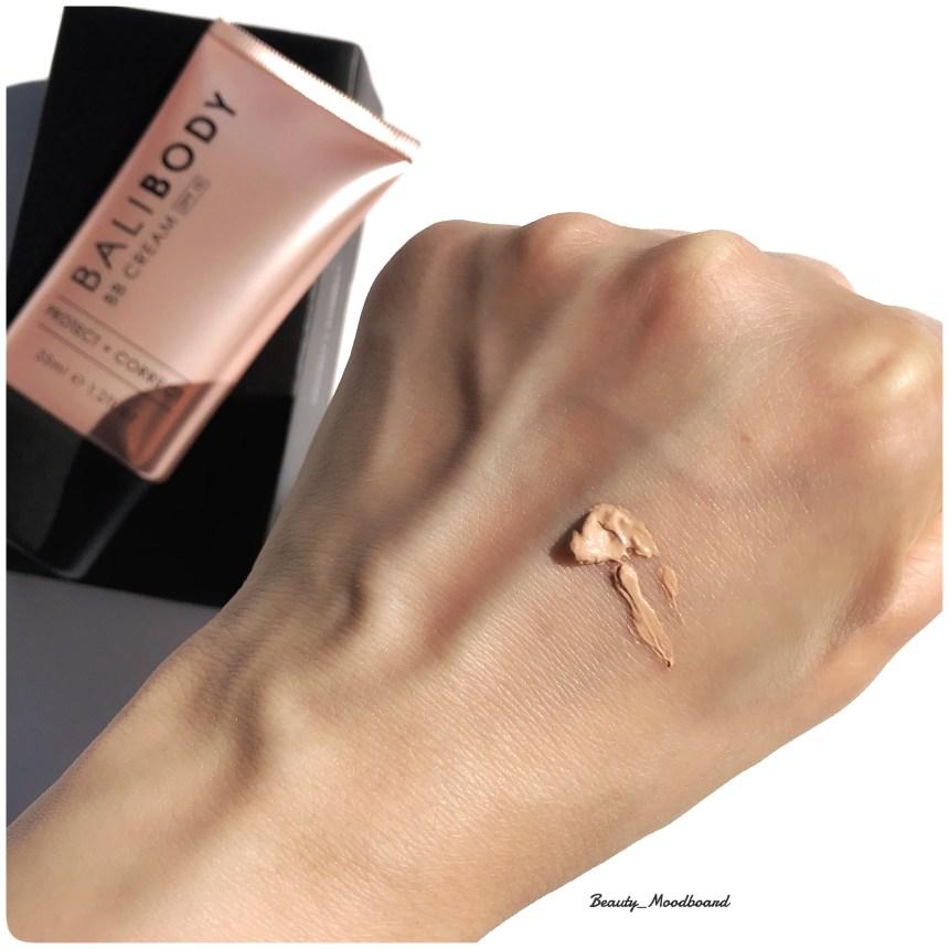 Swatch Texture Bali Body BB Cream