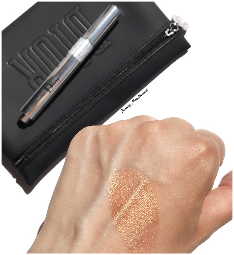 Swatch édition limitée Dior Flash Luminzer Pearly Bronze 550 Wild Earth Look 2019