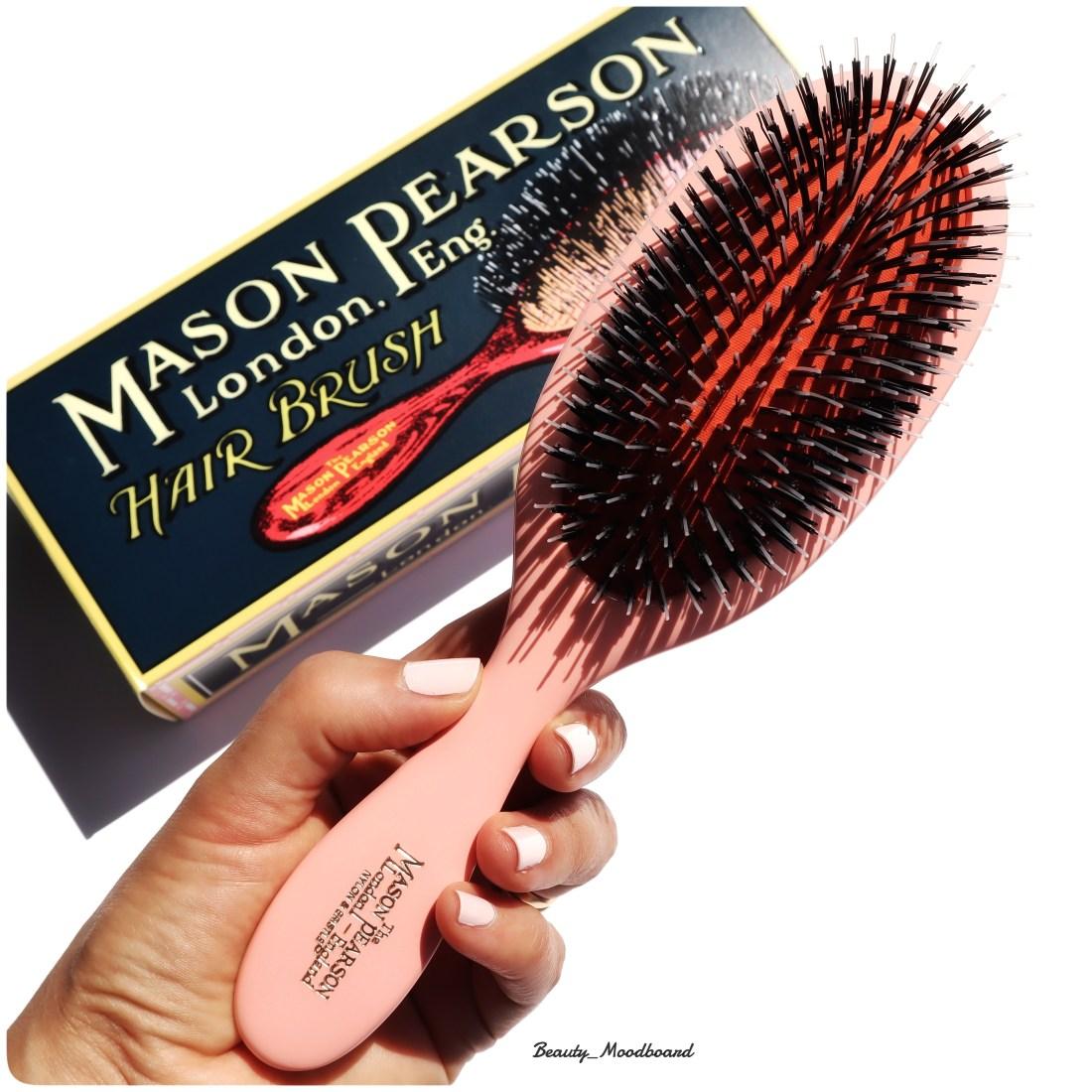 Hair Brush Mason Pearson Handy Mixte Pink