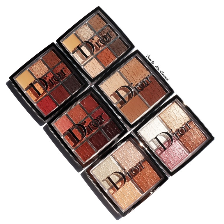 Palettes Dior Backstage Eyes Lips Contour and Glow