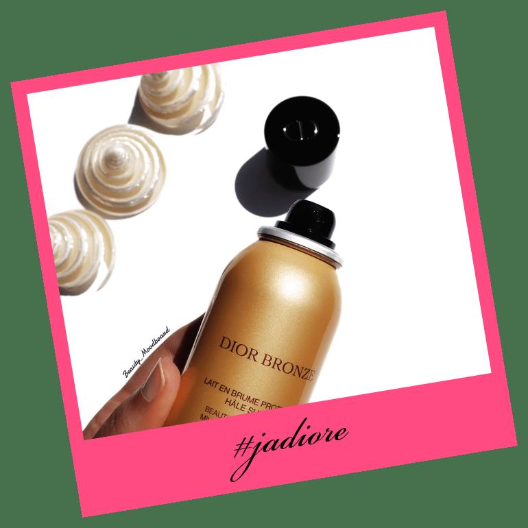 nouvel embout aérosol Dior lait en brume SPF50
