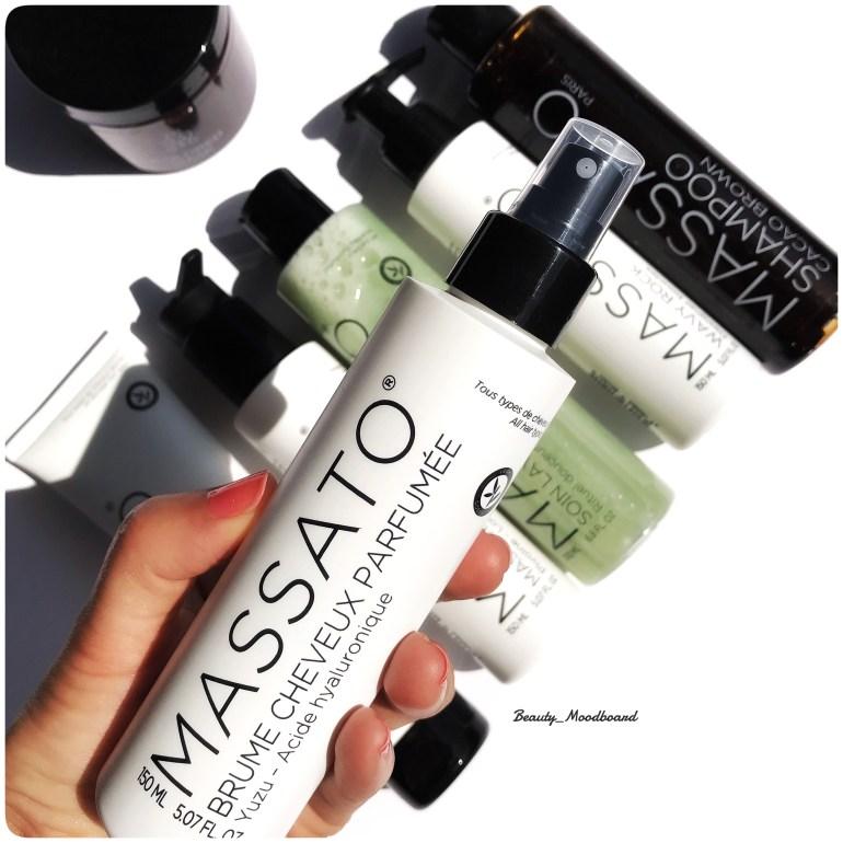 Brume parfumée pour cheveux Massato