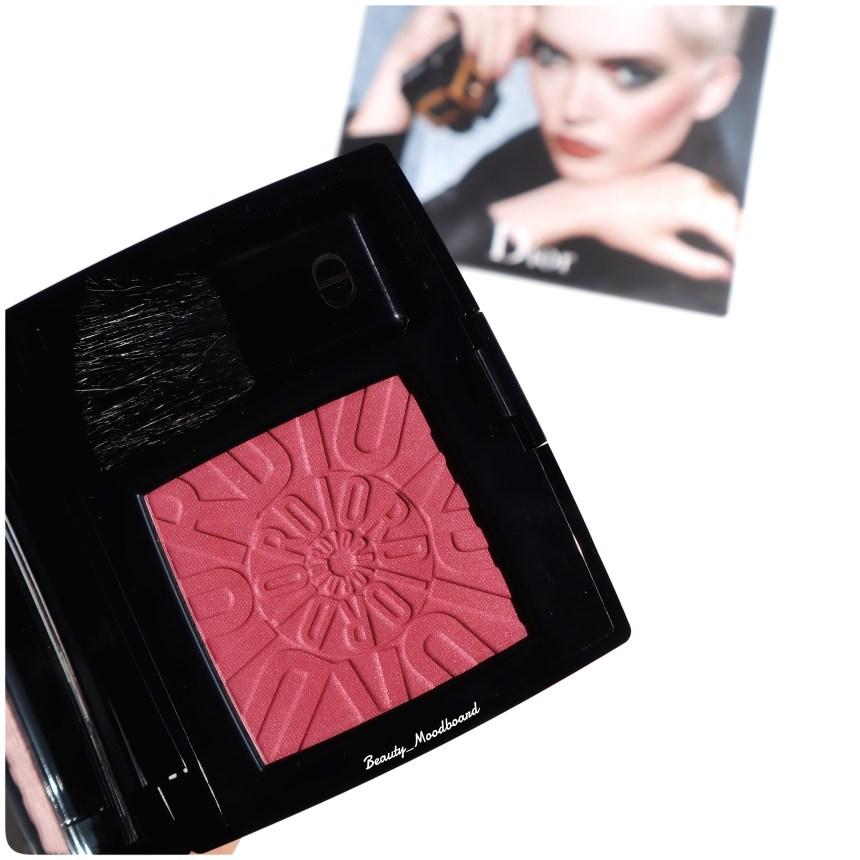 Magnifique blush signé Christian Dior couleur prune
