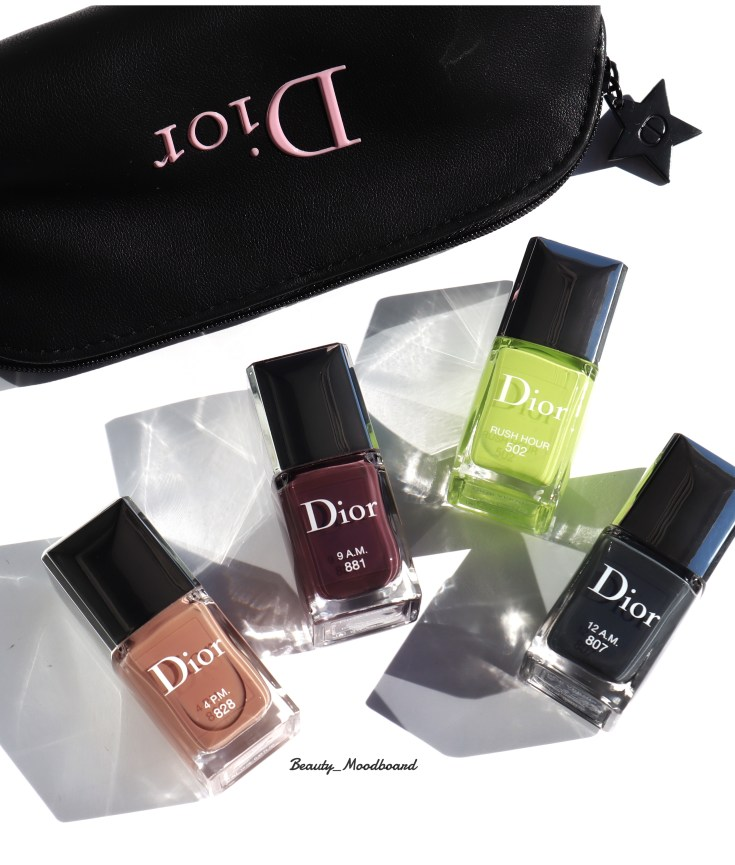 Vernis Dior Power Look Fall 2019 4 coloris