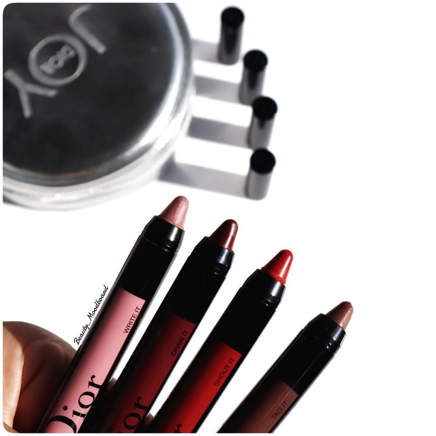 Nouveau Crayon Lèvres Chubby Dior 4 teintes 999 824 784 474