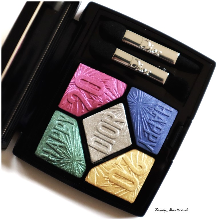 Palette Dior Couture 5 Couleurs 007 Party In Colours Noël 2019