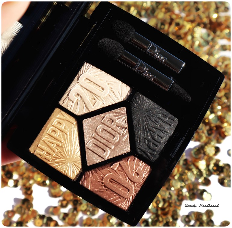 Palette 5 Couleurs Dior Celebrate In Gold 017 Look Happy 2020