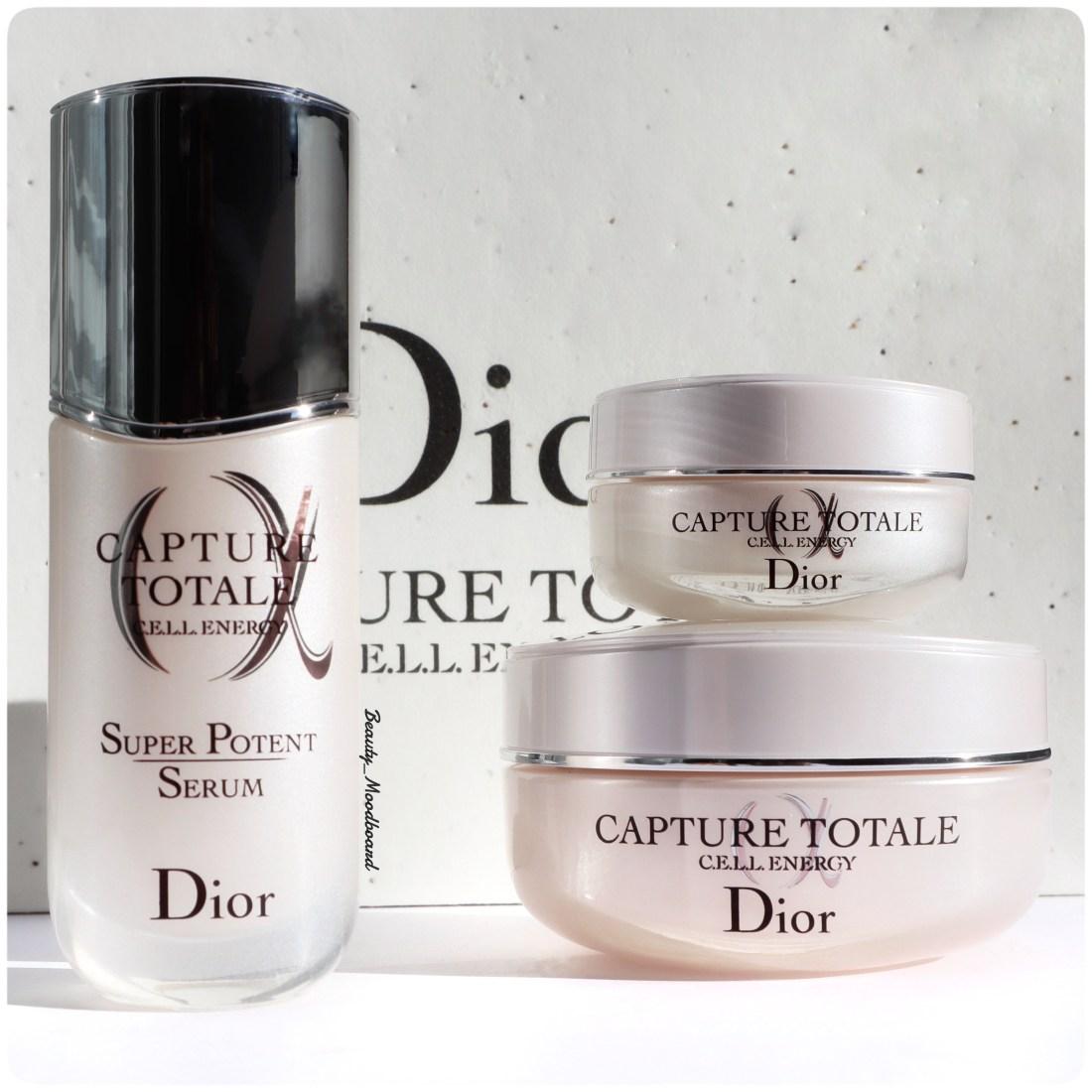 Nouveau soins visage Dior Capture Totale CELL Energy anti-âge global