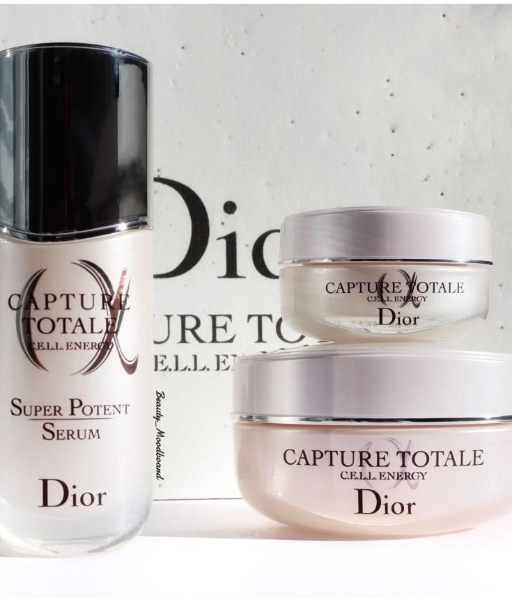Nouveau soins visage Dior Capture Totale CELL Energy anti-âge global