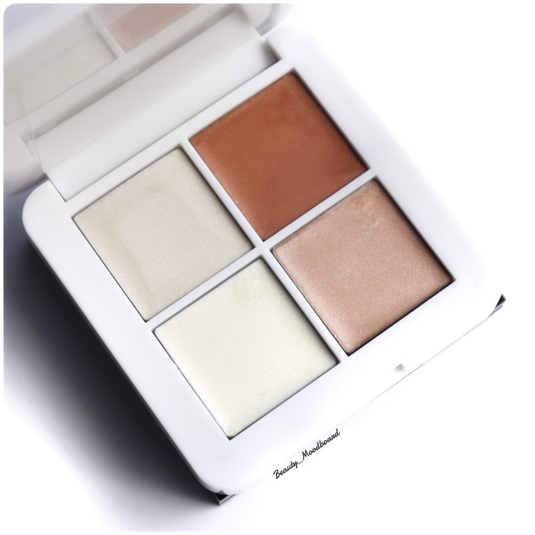 Palette de 4 teintes de highlighter Rms Beauty Luminizer X Quad