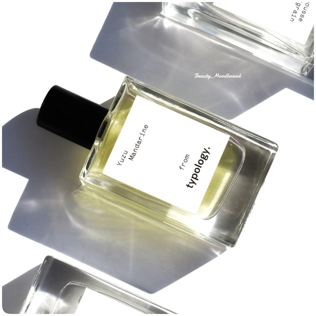 Typology Eau de parfum naturel Yuzu Mandarine