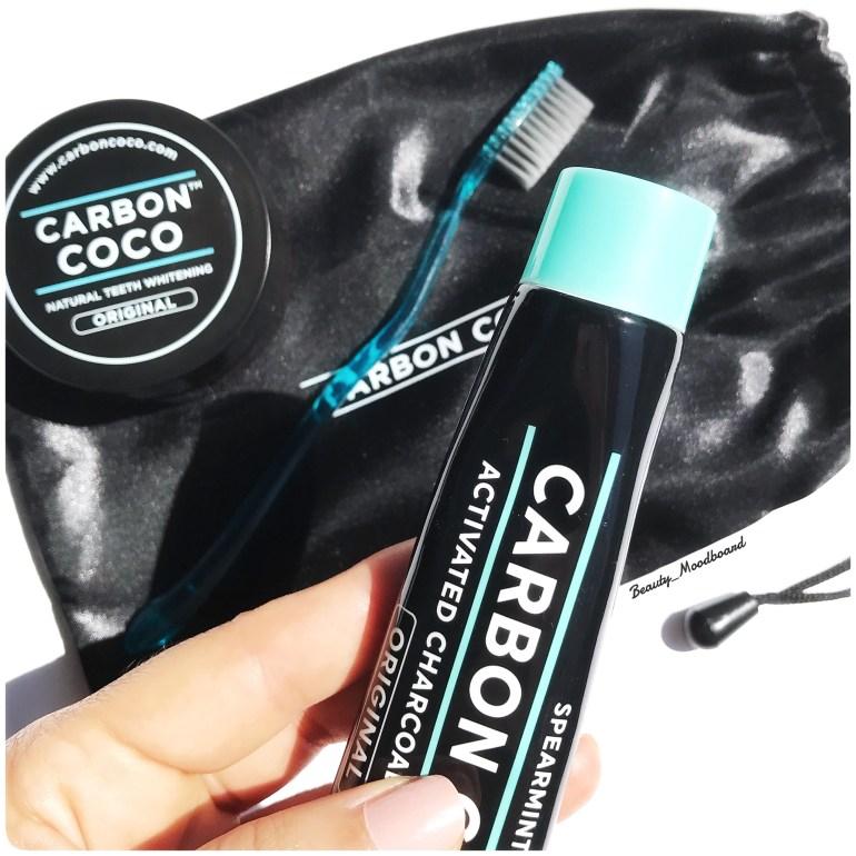 Dentifrice naturel pour blanchir les dents Carbon Coco au charbon actif