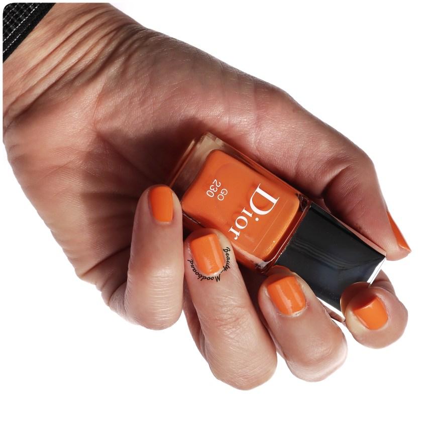 Vernis de couleur orange vif Go 230