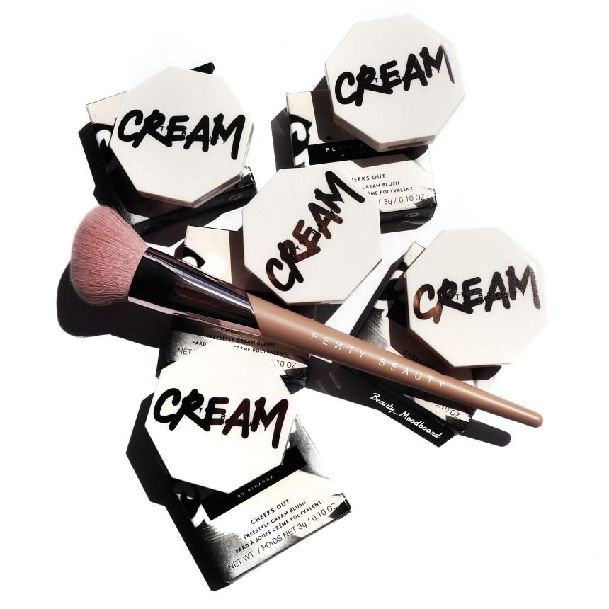 Nouveaux blush crèmes de la marque de Rihanna