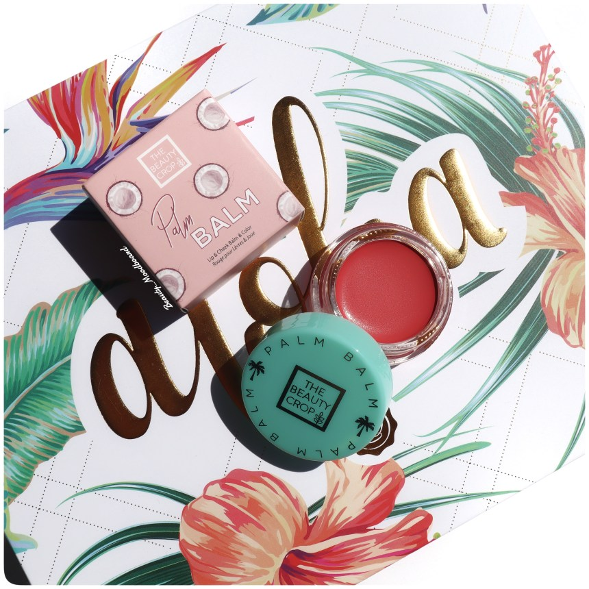 Palm Balm Lip & Cheek Tint The Beauty Crop GLOSSYBOX Juil