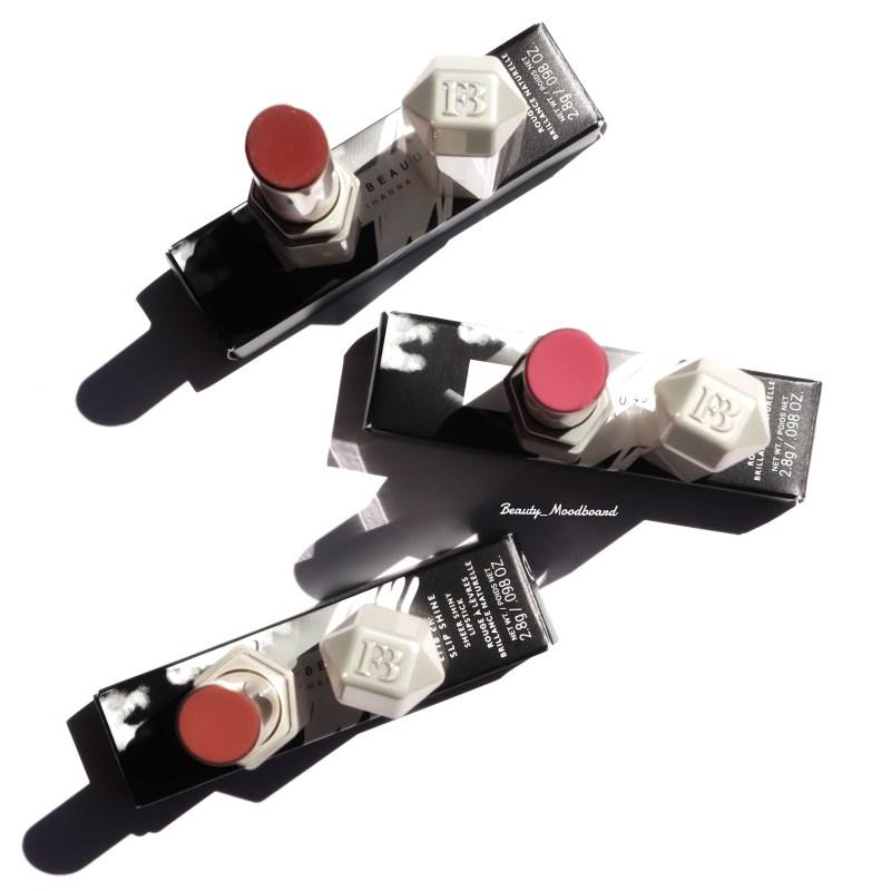 Nouveauté Fenty Beauty Slip Shine Sheer Shiny Lipsticks