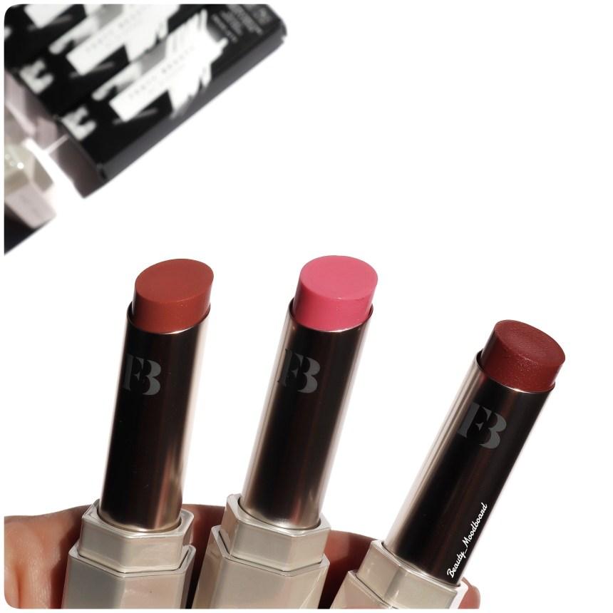 Nouveaux rouges à lèvres brillance naturelle Fenty