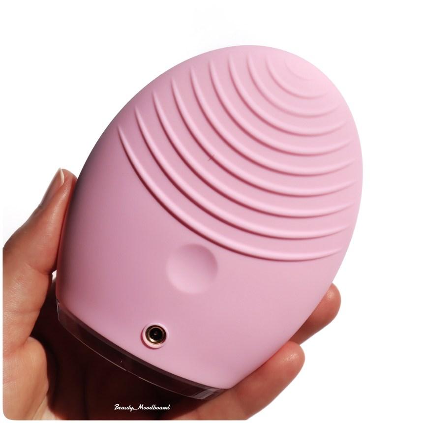Massage facial appareil connecté pulsation T Sonic