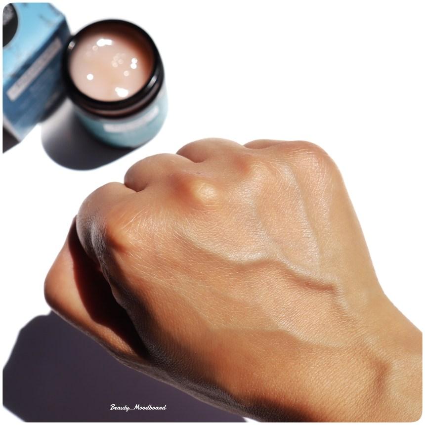 Swatch peau hydratée soin visage bio