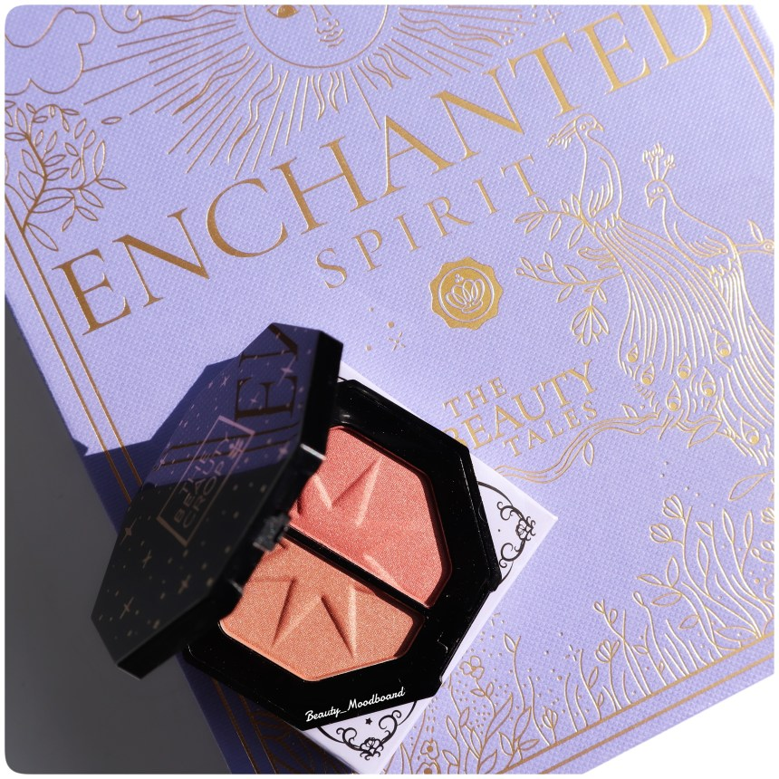 GLOSSYBOX Octobre 2020 Duo Blush The Beauty Crop