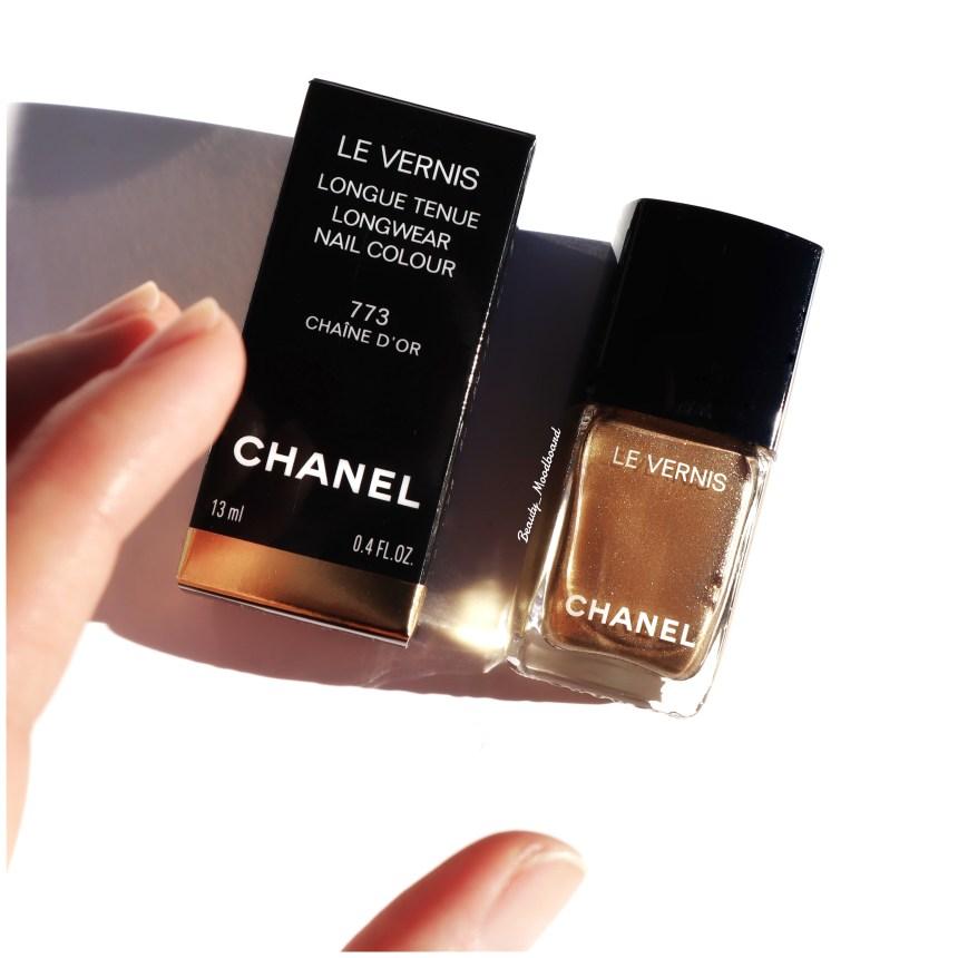 Chanel Vernis Chaîne d'or 773