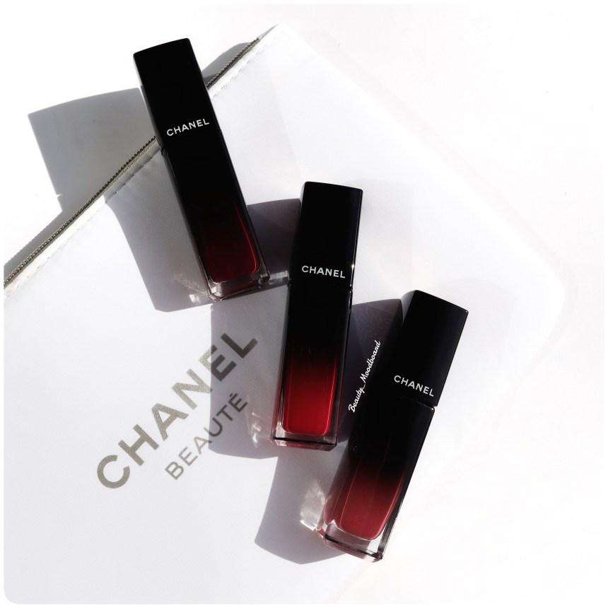 Chanel Nouveautés Makeup Rouge Allure Laque