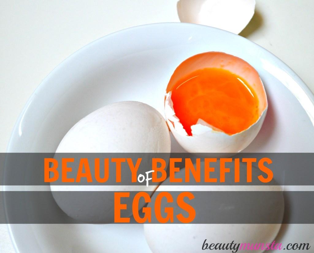 beauty benefits of eggs