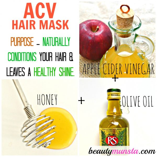 Top 3 ACV Hair Mask Recipes Apple Cider Vinegar For Hair