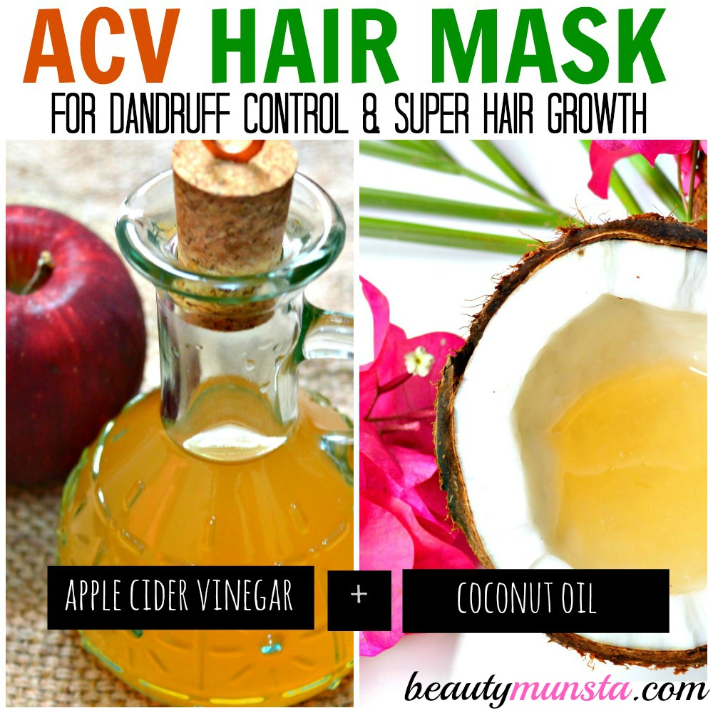 ACV Coconut Oil Hair Mask