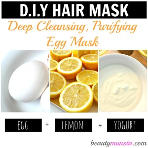 3 Egg Hair Mask Recipes for Gorgeous Hair