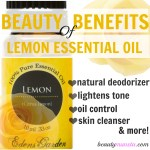Top 10 Beauty Benefits of Lemon Essential Oil