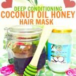 Coconut Oil Honey Hair Mask | Deep Conditioning for Silky Hair