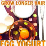 Egg and Yogurt Hair Mask Recipe for Strong, Long Hair