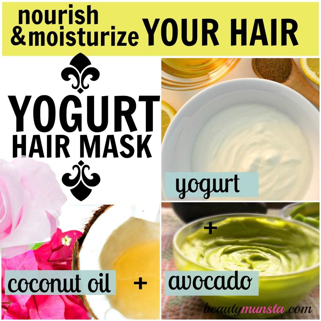 yogurt hair mask moisturizing