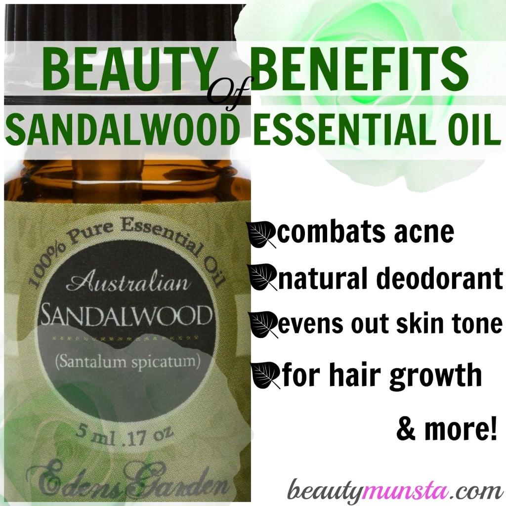 10 Benefits of Sandalwood Essential Oil for Skin & Hair ...