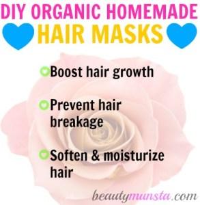 DIY Organic and Natural Homemade Hair Mask Recipes
