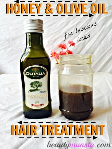 Honey and Olive Oil Hair Treatment for Luscious Locks