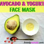 Deep Hydrating Avocado and Yogurt Face Mask Recipe