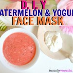 Yogurt and Watermelon Face Mask for Acne