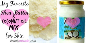 DIY Moisturizing Shea Butter and Coconut Oil Mix for Skin