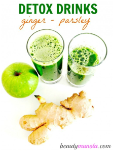 Detox: Green Juice Recipe for Skin, Hair & Beauty