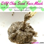 DIY Anti-Aging Chia Seed Face Mask for Beautiful Skin