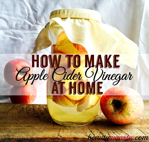 Learn how to make your own apple cider vinegar at home from scratch