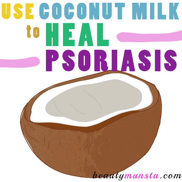 coconut milk for psoriasis