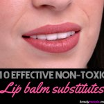 Top 10 Lip Balm Substitute List | Non-Toxic Alternatives for Chapped Lips