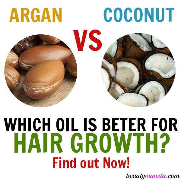 argan oil and coconut oil for hair growth