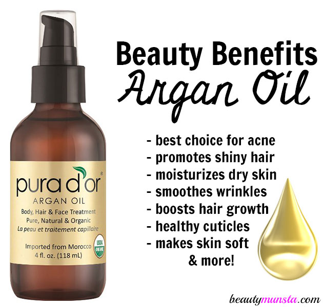 14 Beauty Benefits Of Argan Oil For Skin Hair Amp Nails