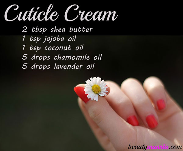 homemade cuticle cream recipe